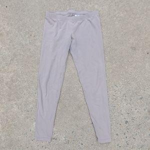 Tan basic leggings